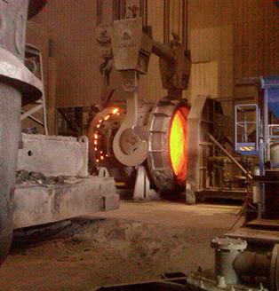 steel foundry temperature measurement