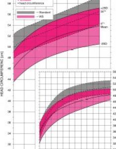 Williams syndrome female head circumference growth chart also rh williamssyndrome