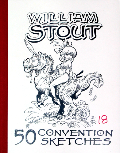 William Stout - 50 Convention Sketches 18