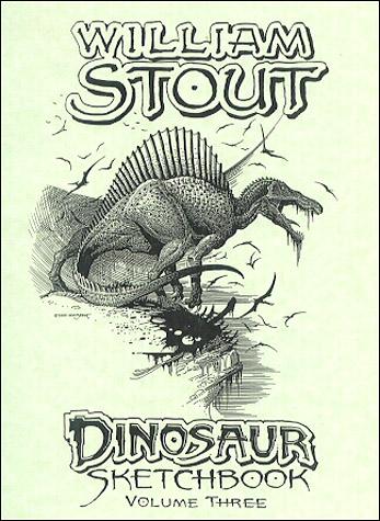 The Dinosaurs - Sketchbook - Volume 3