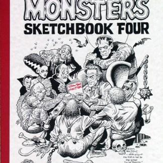William Stout MONSTERS Sketchbook Volume 4