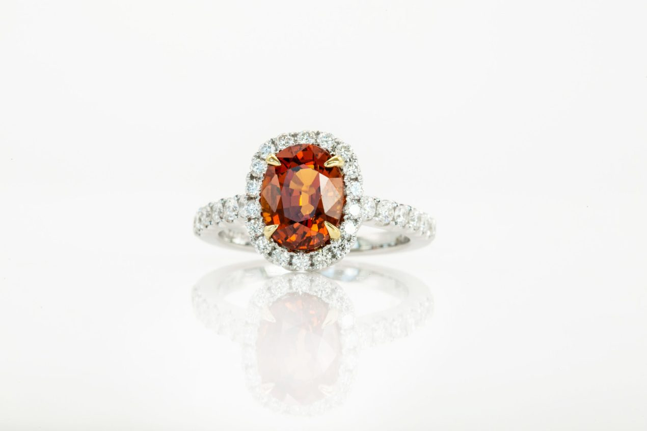 William Thomas Orange Diamond Ring