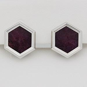 Ruby crystal Earrings