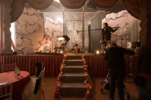 Set for Daria Martin's short film A Hunger Artist
