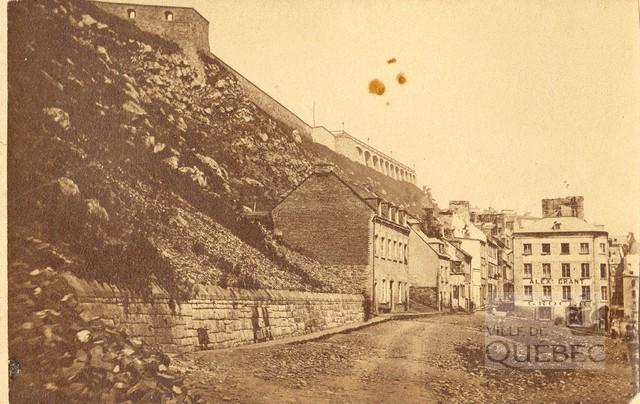 1870 - Terrasse Durham, rua Champlain aos fundos