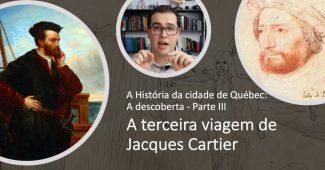 Imagem mostrando Jacques Cartier e Roberval
