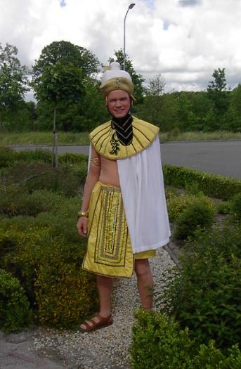 Egyptische kostuum