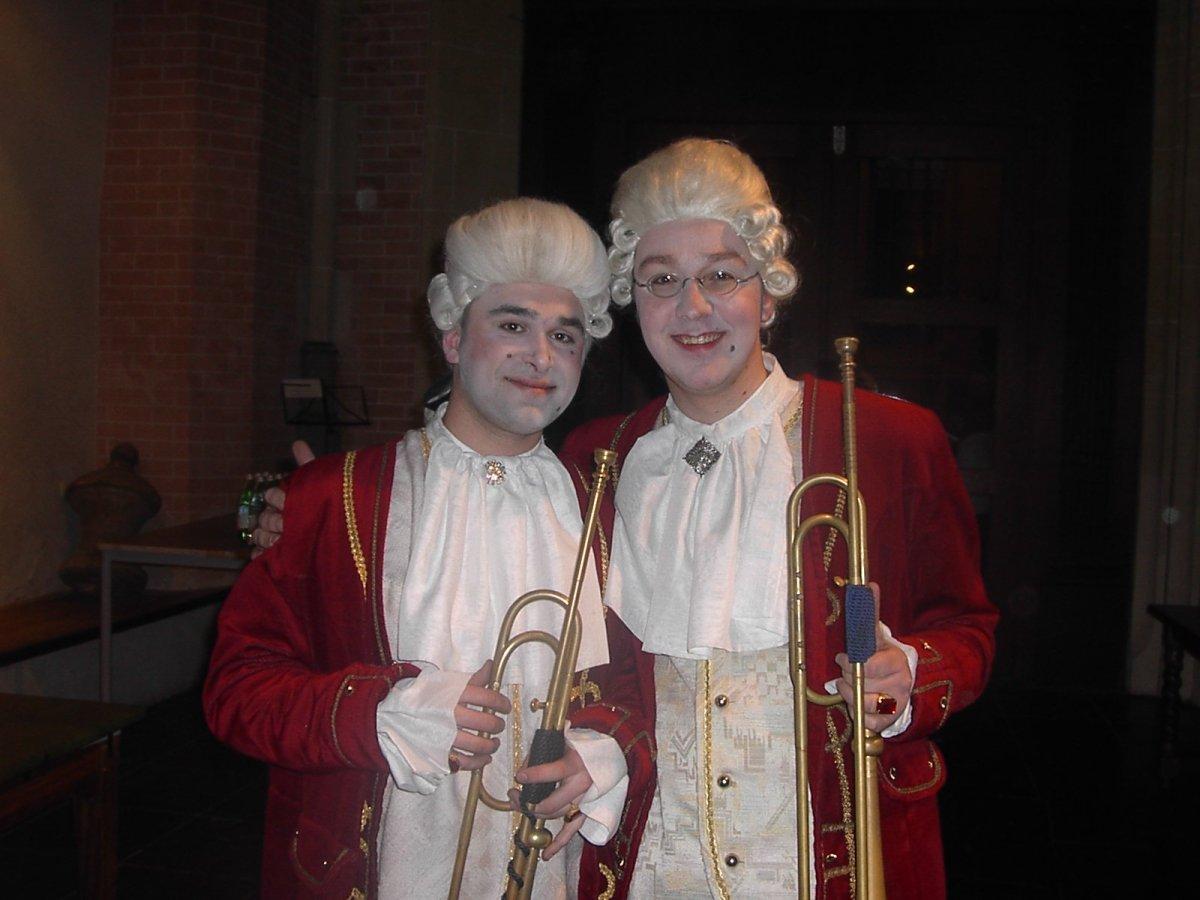 Rococo-stijl kostuum