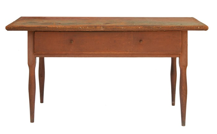Lot 46: Work Table