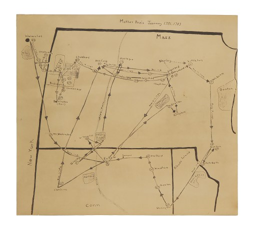 Lot 54: Rubbing and Map