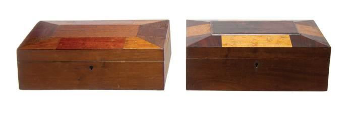 Lot 113: Boxes and Ephemera