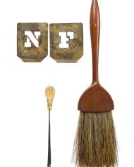Lot 146: Stencil, Hook and Brush