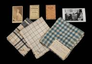 Lot 151: Textiles and Photographs