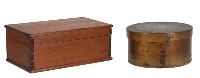 Lot 163: Two Boxes