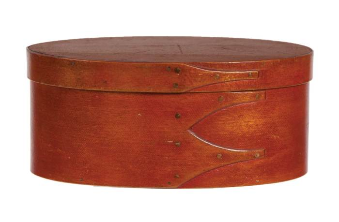 Lot 20: Oval Box