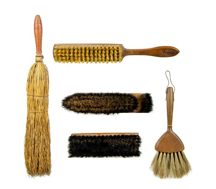 Lot 24: Five Brushes