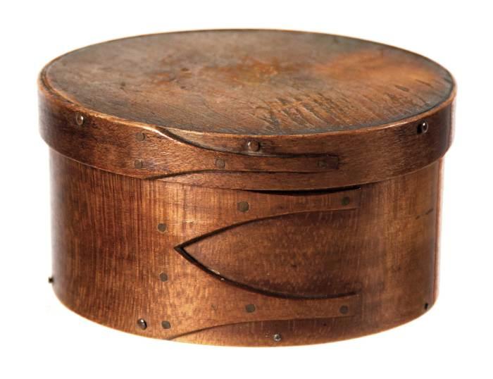 Lot 49: Rare Small Round Box