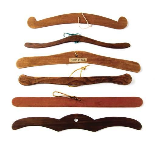 Lot 52: Six Hangers