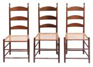 Lot 55: Six Side Chairs