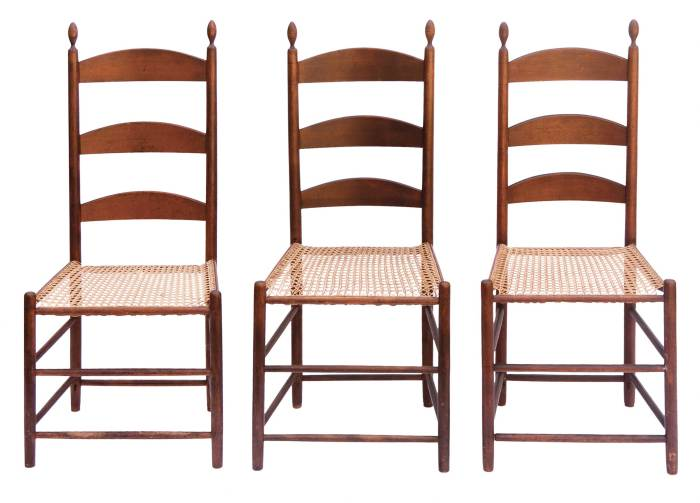 Lot 55: Six Side Chairs