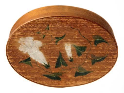 Lot 61: Small Oval Box