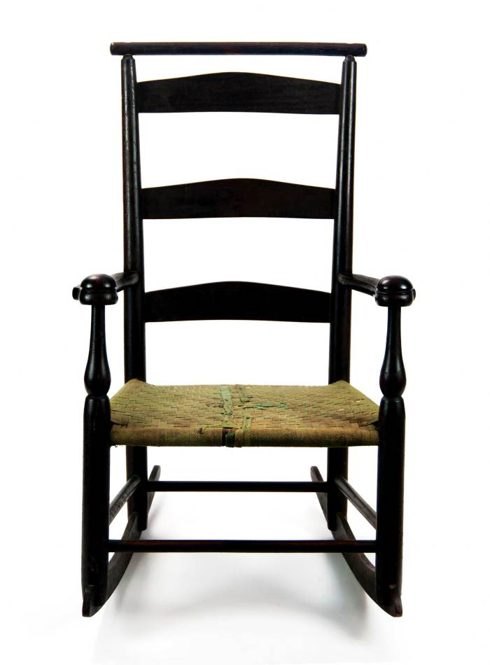 Lot 63: Child's Rocking Chair