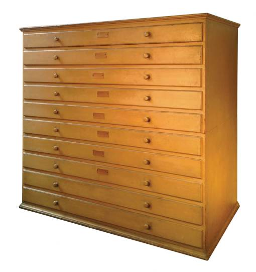 Lot 75: Rare Chest of Drawers