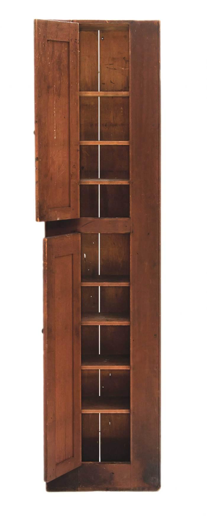 Lot 95: Tin Cupboard