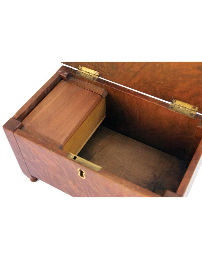 Lot 111: 19th C. Pennsylvania Miniature Blanket Box