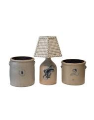 Lot 118: Three Stoneware Pieces