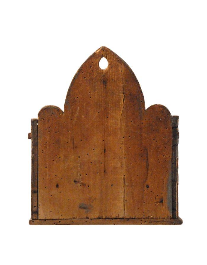 Lot 11: 19th C. Hanging Box