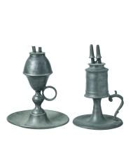 Lot 165A: Whale Oil Lamps