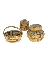 Lot 177: Papago and Eskimo Baskets