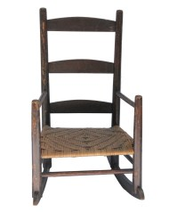 Lot 180: Two Children's Chairs