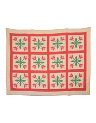 Lot 188: 19th C. Quilt and Coverlet