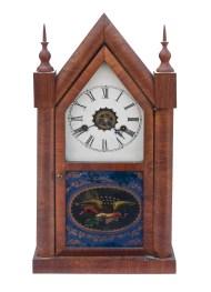 Lot 209: Steeple Clock