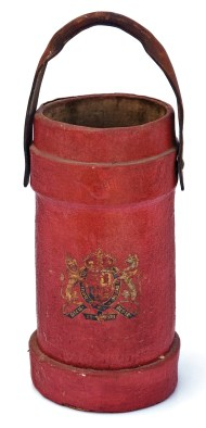 Lot 213: Coopered English Fire Bucket