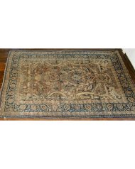 Lot 22: Persian Oriental Scatter Rug