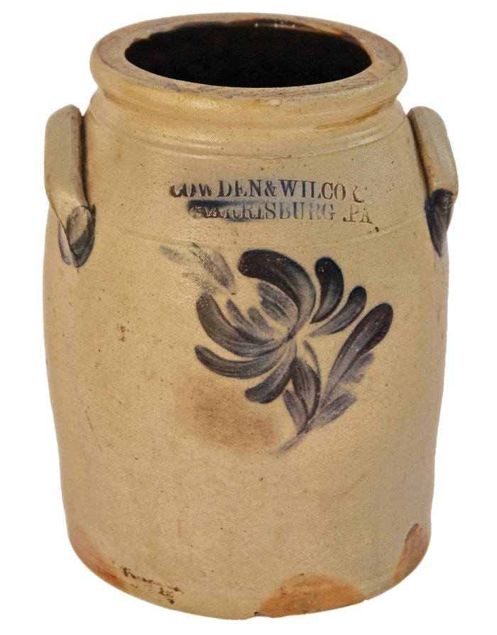 Lot 26: Stoneware Crock