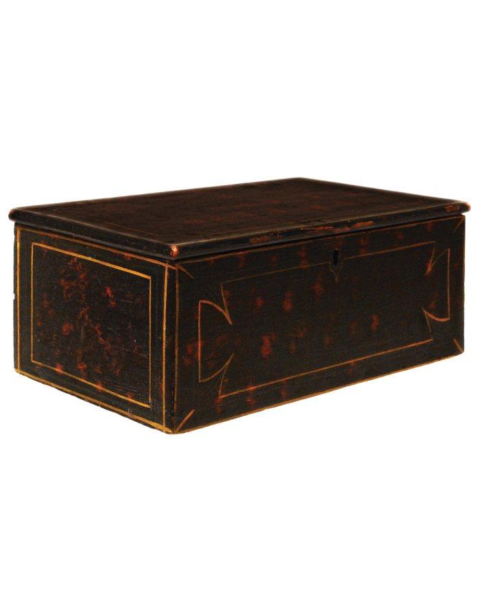 Lot 2: 19th C. Pine Storage Box
