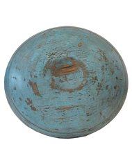 Lot 37: Blue Chopping Bowl