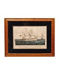 Lot 51B: The Miniature Ship Print