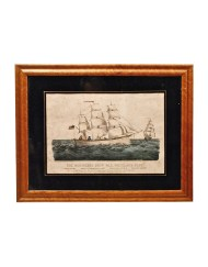 Lot 51B: The Miniature Ship Print
