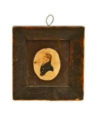Lot 56: Early Silhouette of Ship Captain