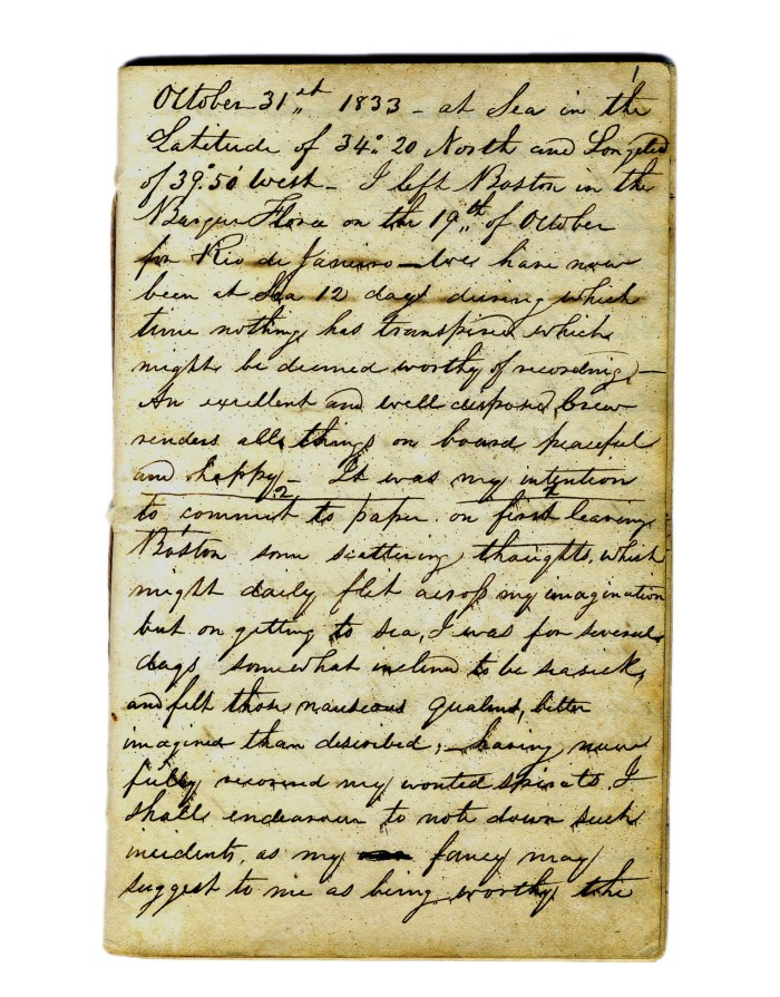 Lot 59: 19th C. Handwritten Manuscript