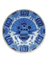 Lot 8: Early Delft Ceramic Charger