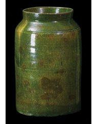 Lot 9D: New England Redware Tall Jar