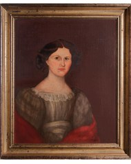 Lot 100: Portrait of Young Girl