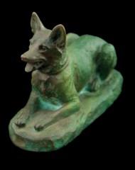 Lot 106A: Bronze Dog