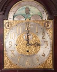 Lot 124: Tall clock, Boston, chiming